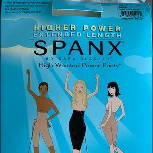 Spanx High waisted power panty NEVER WORN